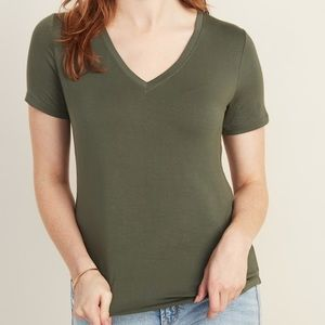 Luxe V-Neck Tee for Women - NWT